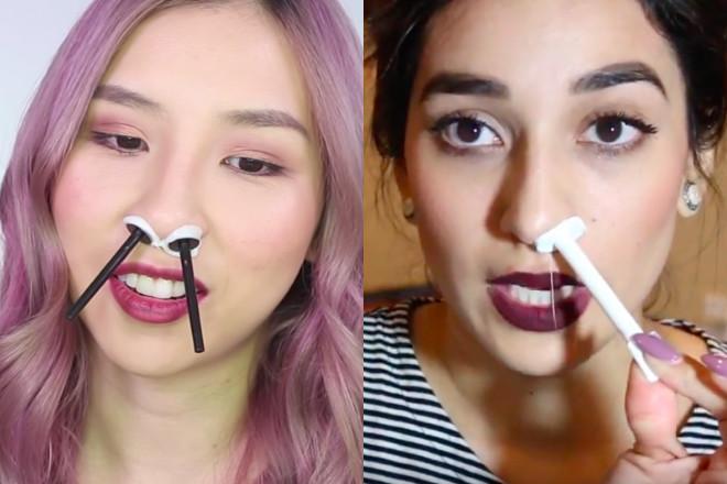usuwanie włosów z nosa