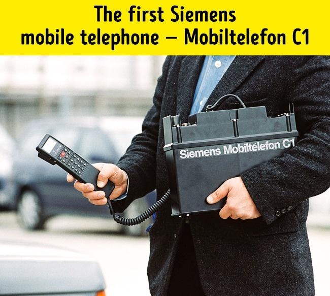 Pierwszy telefon Siemens