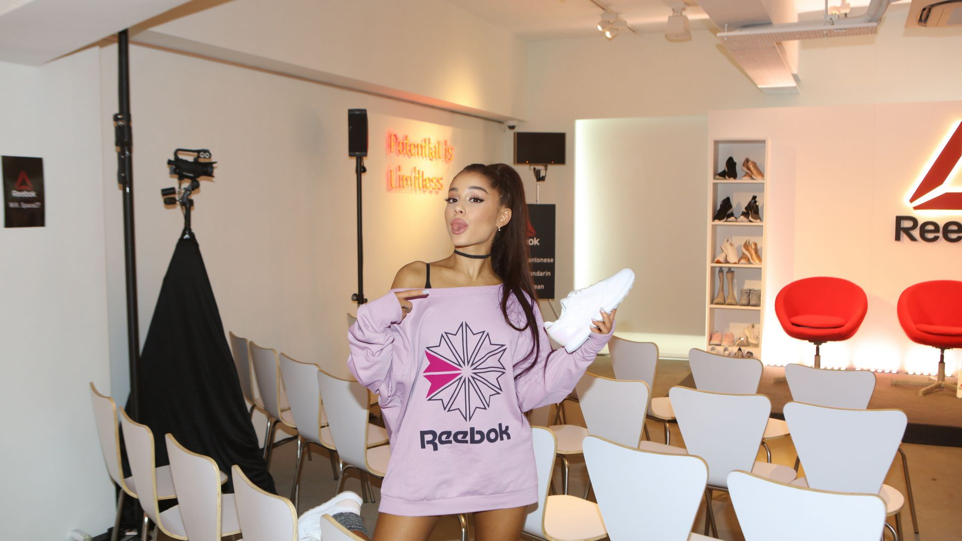 Ariana Grande dla Reebok