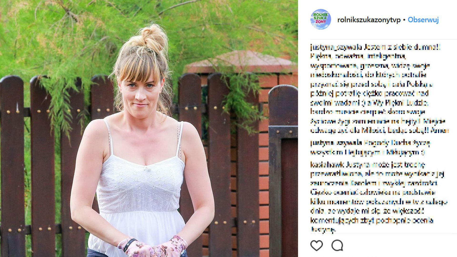 Justyna z rolnik szuka żony