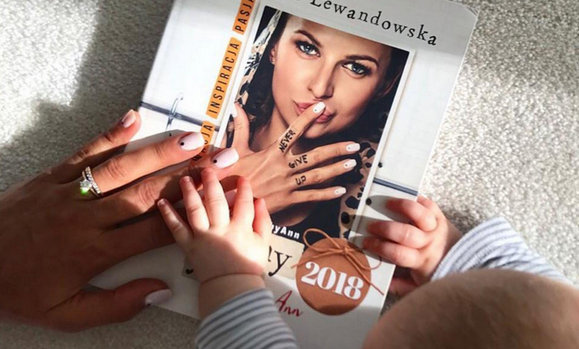 kalendarz Anny Lewandowskiej