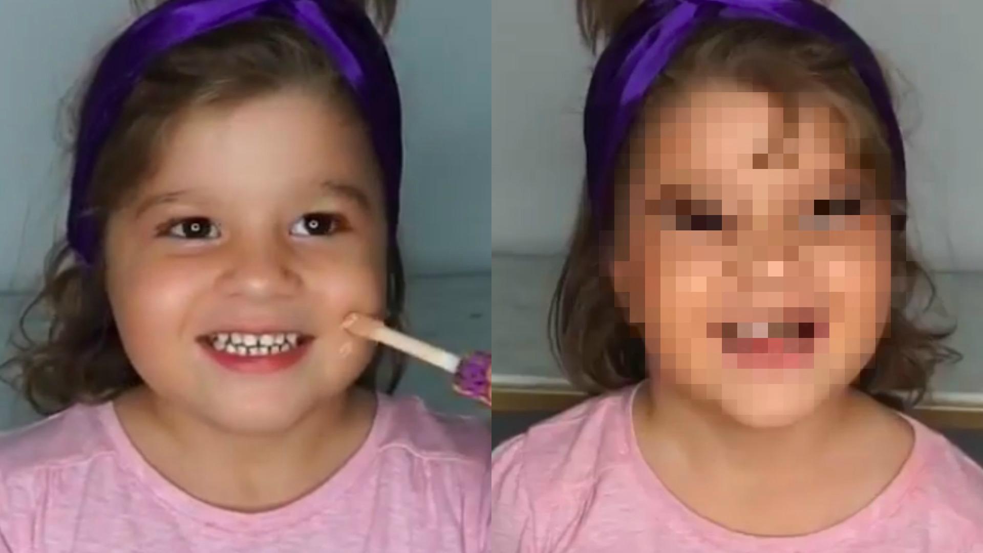 makijaż dla dziecka
