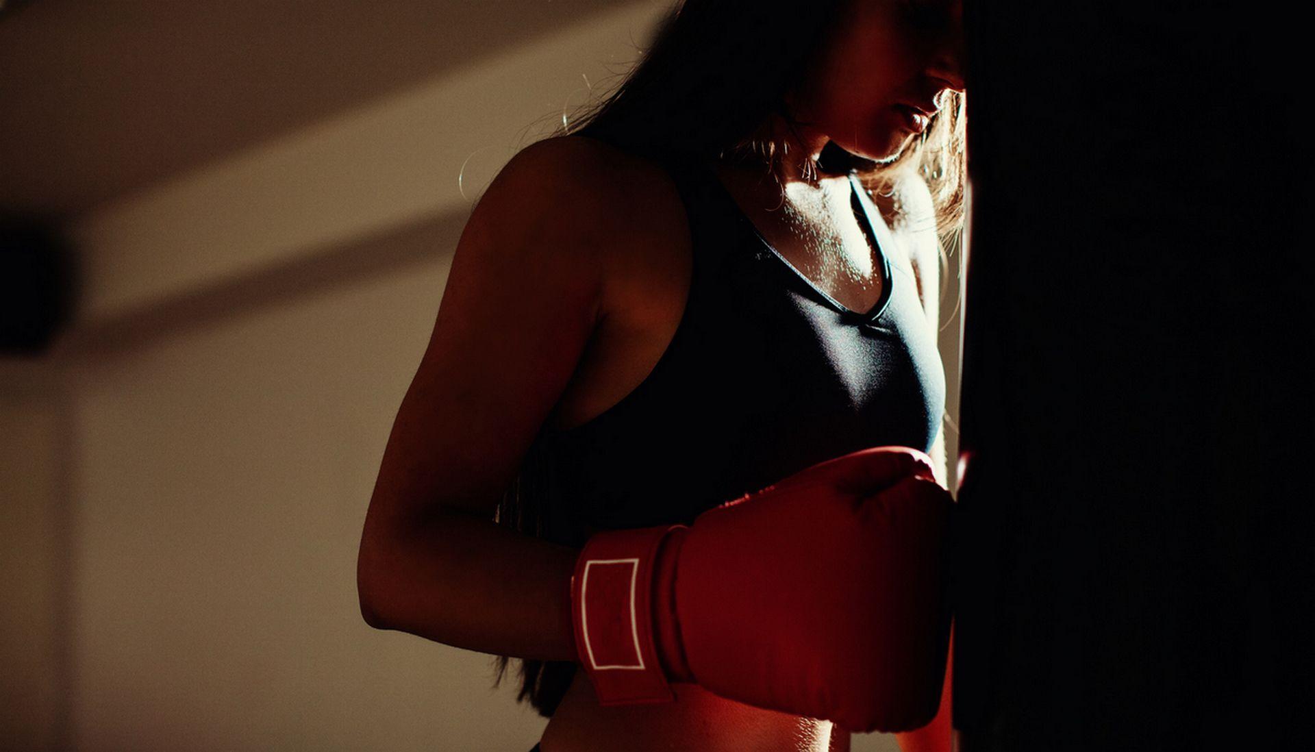 boks dla kobiety
