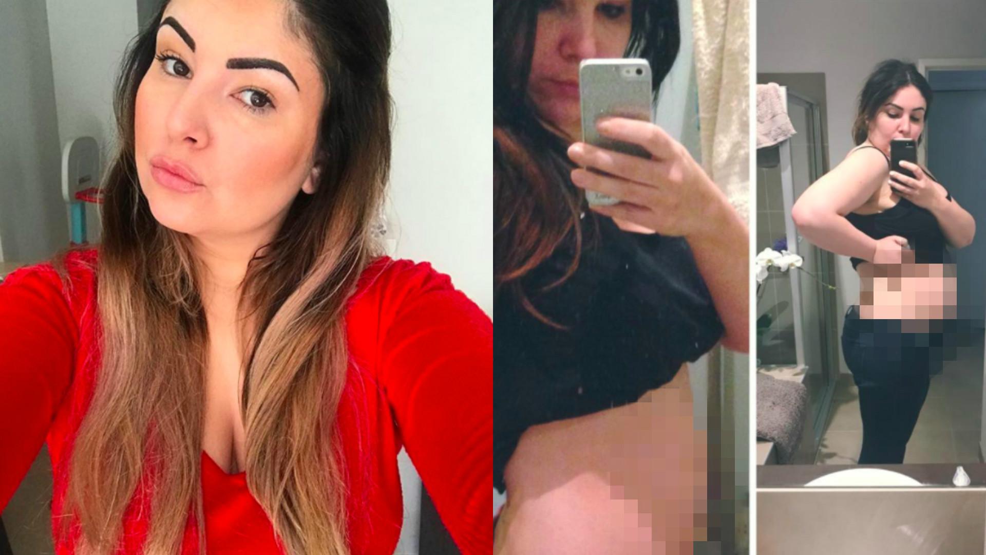 wielkość brzucha w ciąży