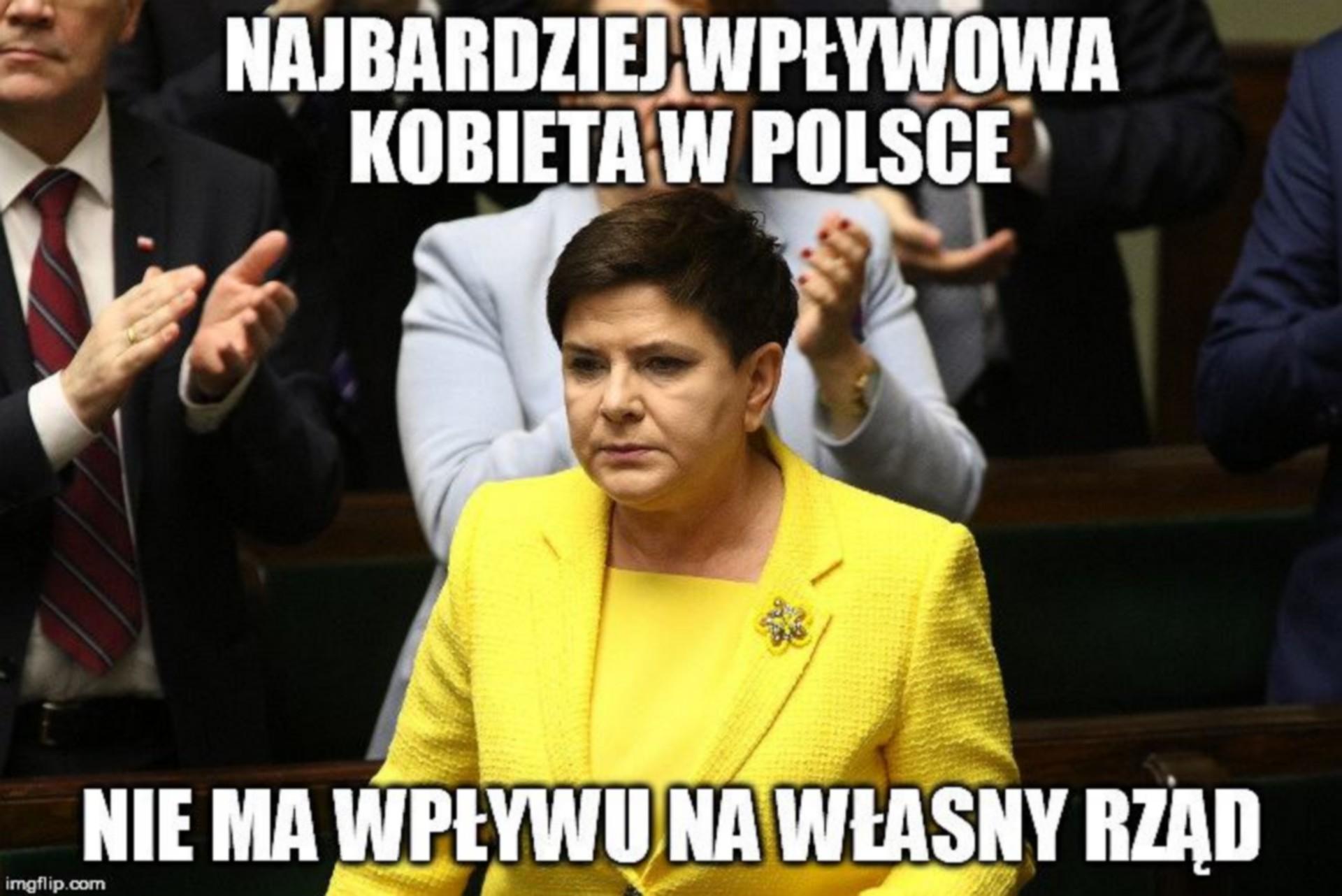 rezygnacja Beaty Szydło