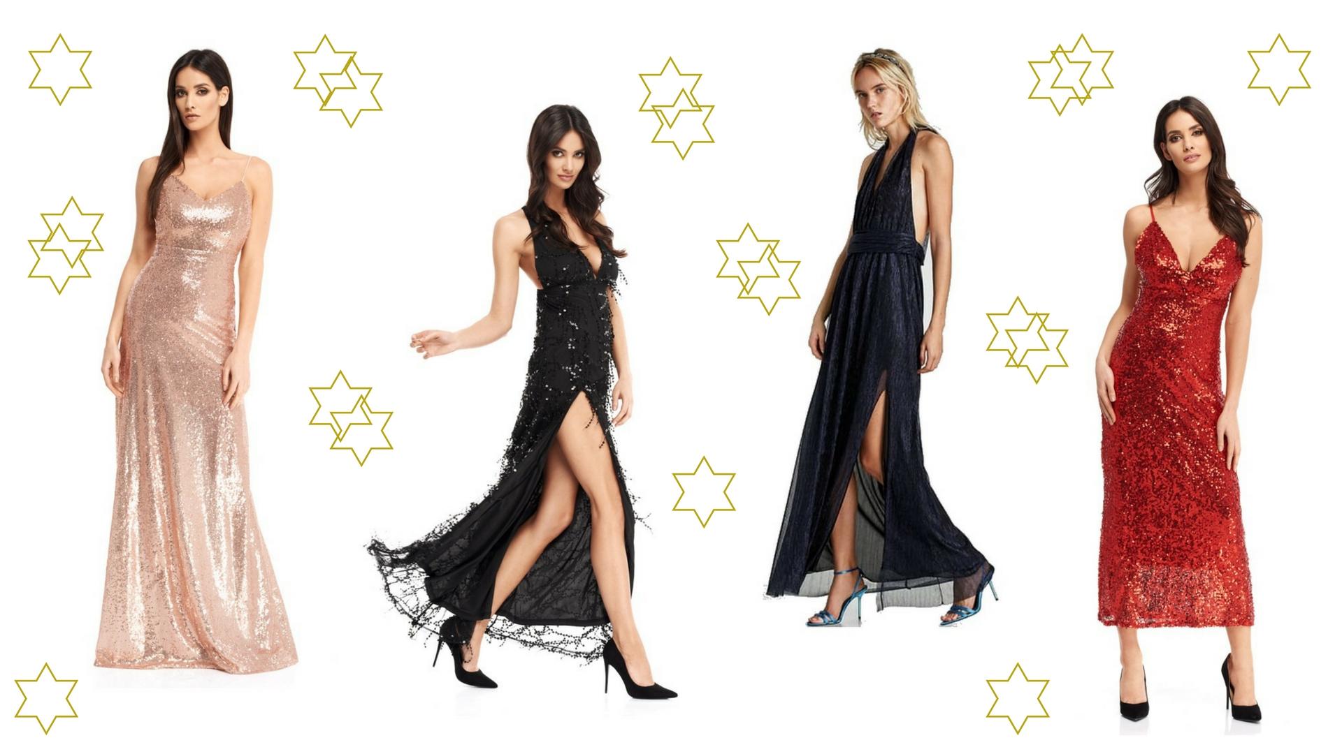 sukienki maxi na sylwestra