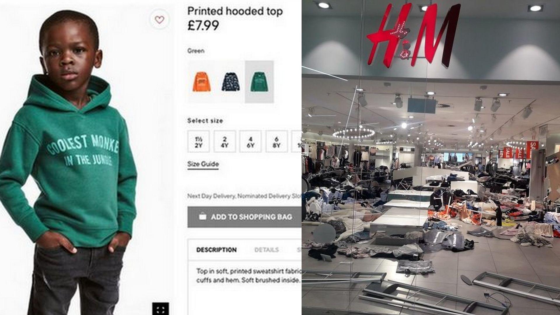 rasistowska reklama H&M