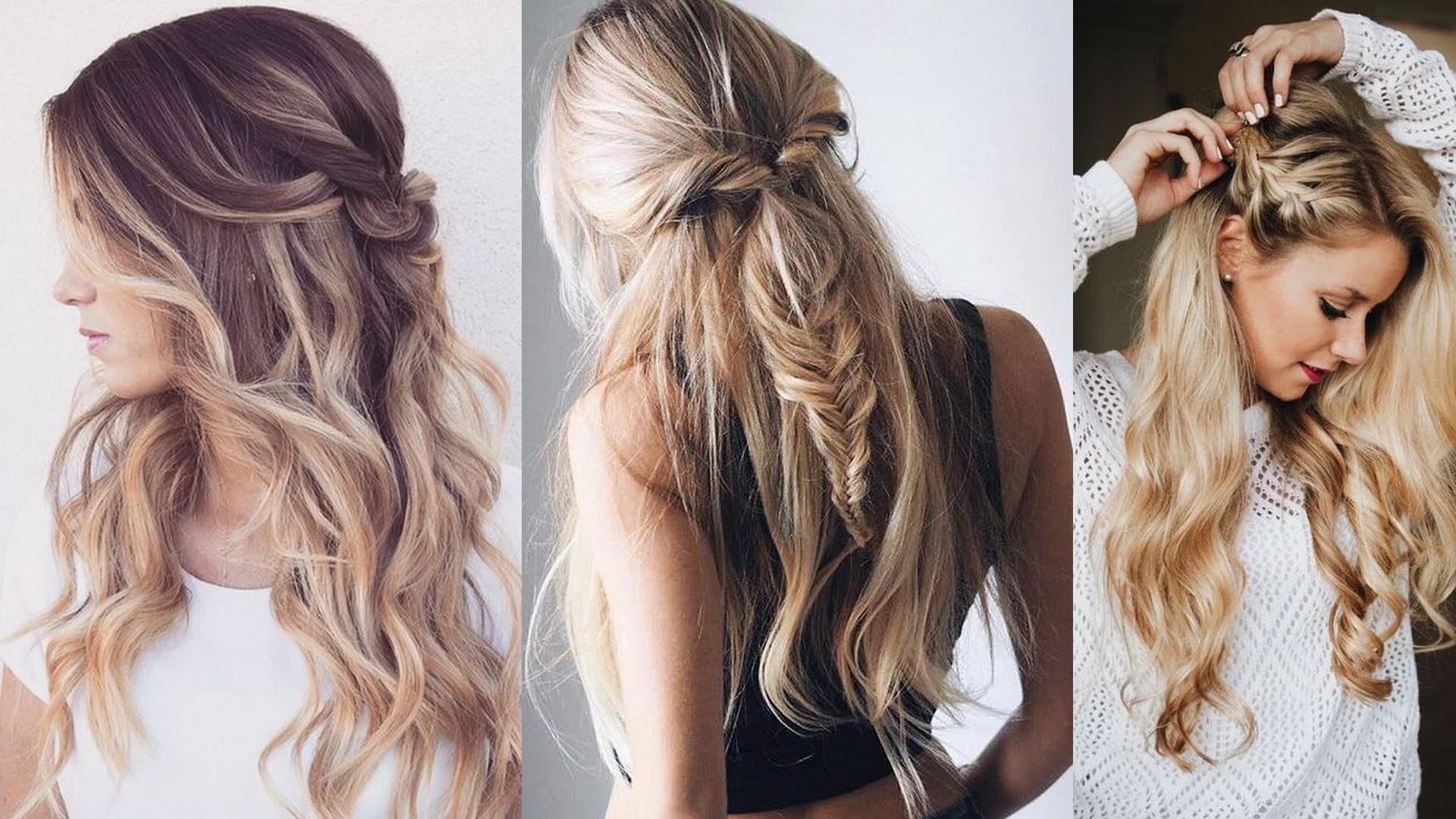 studniówkowa fryzura