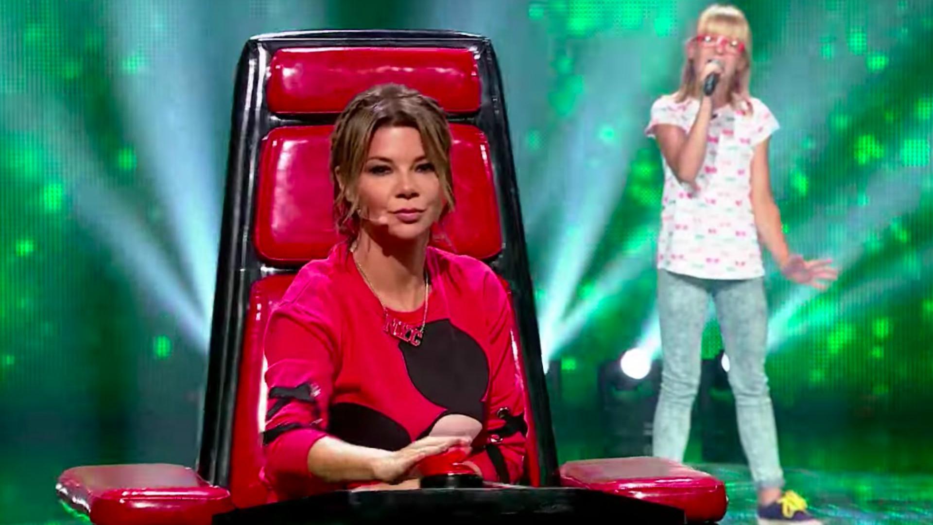 Zuzia Janik w The Voice Kids
