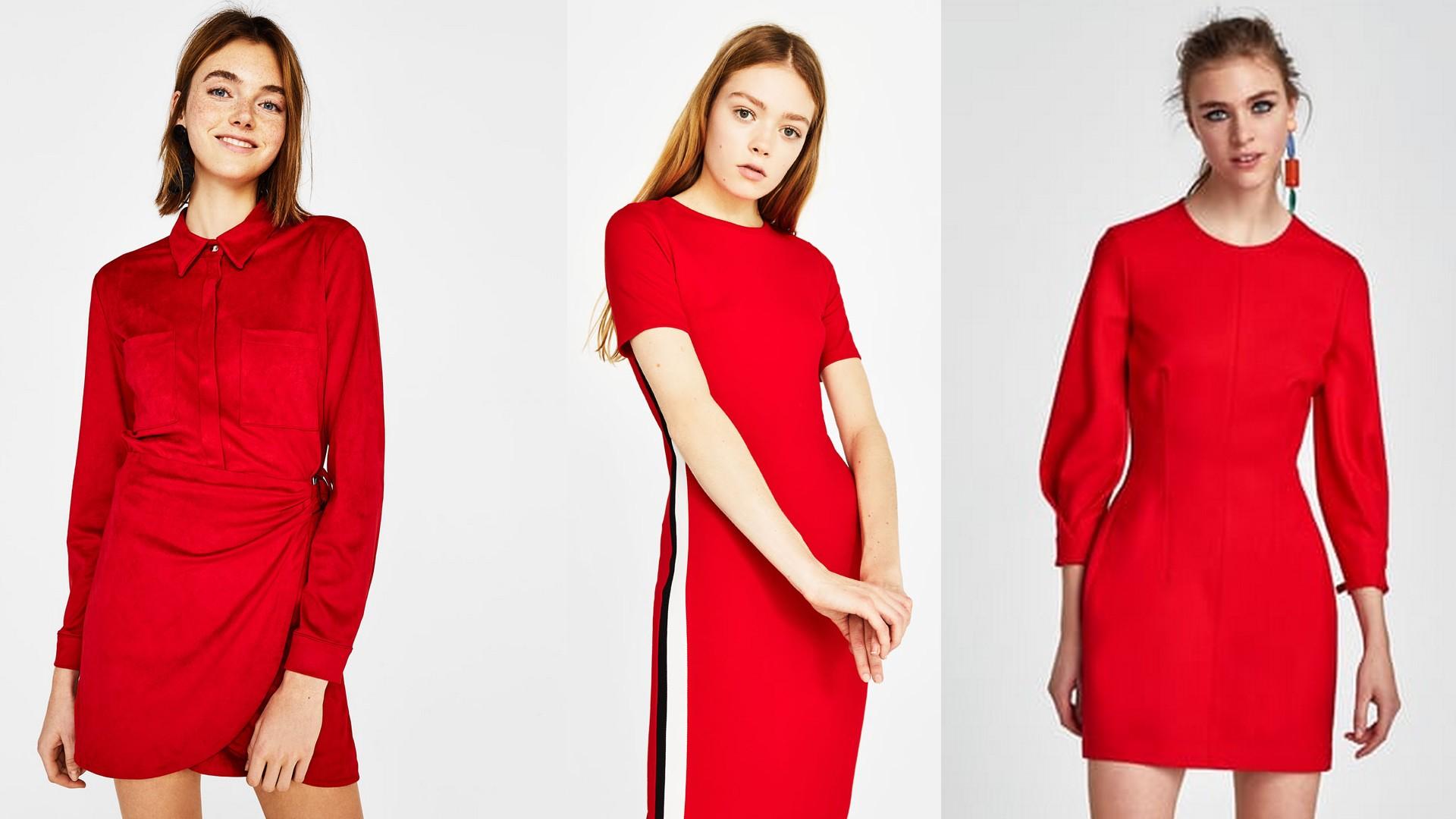 sukienki na walentynki 2018