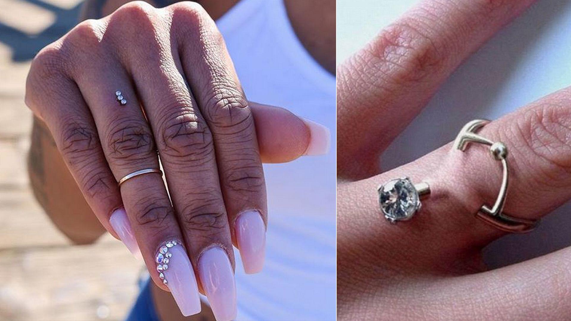 ślubny piercing