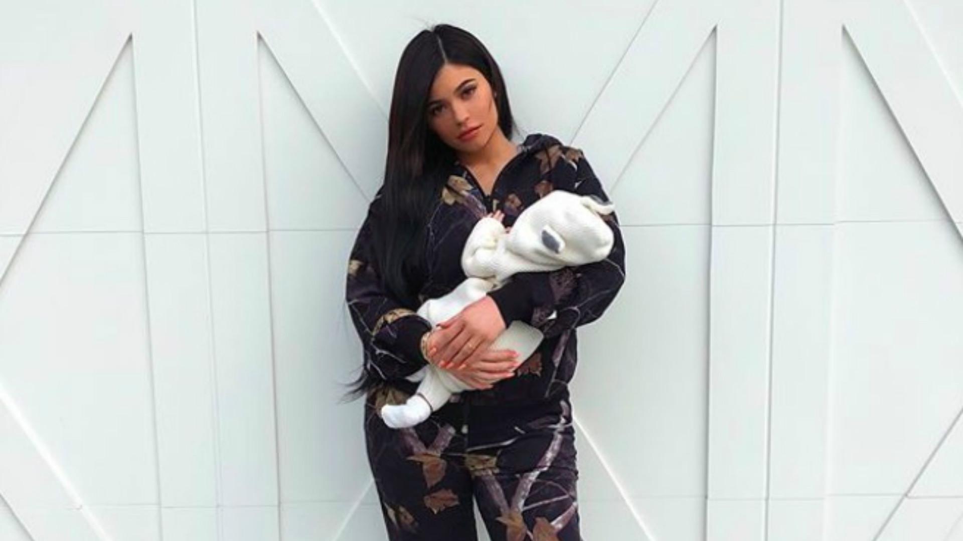 Kylie Jenner i Stormi Webster