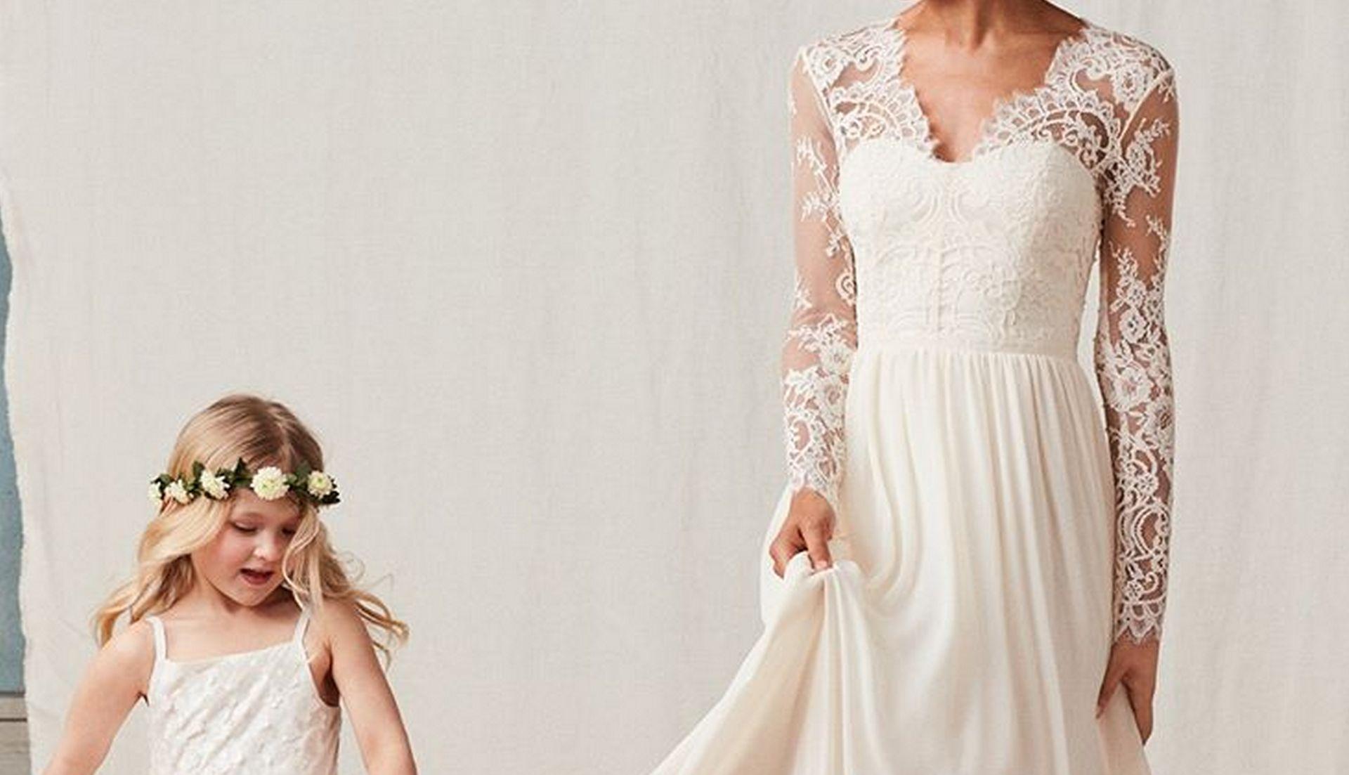 suknia ślubna H&M