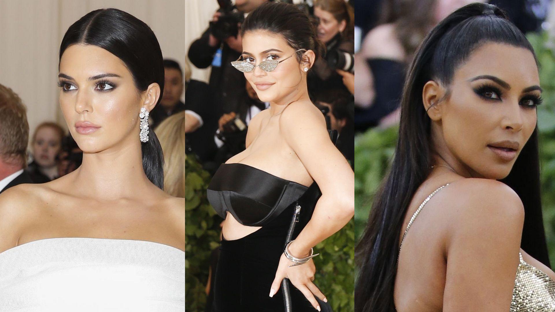 Kardashianki met gala 2018