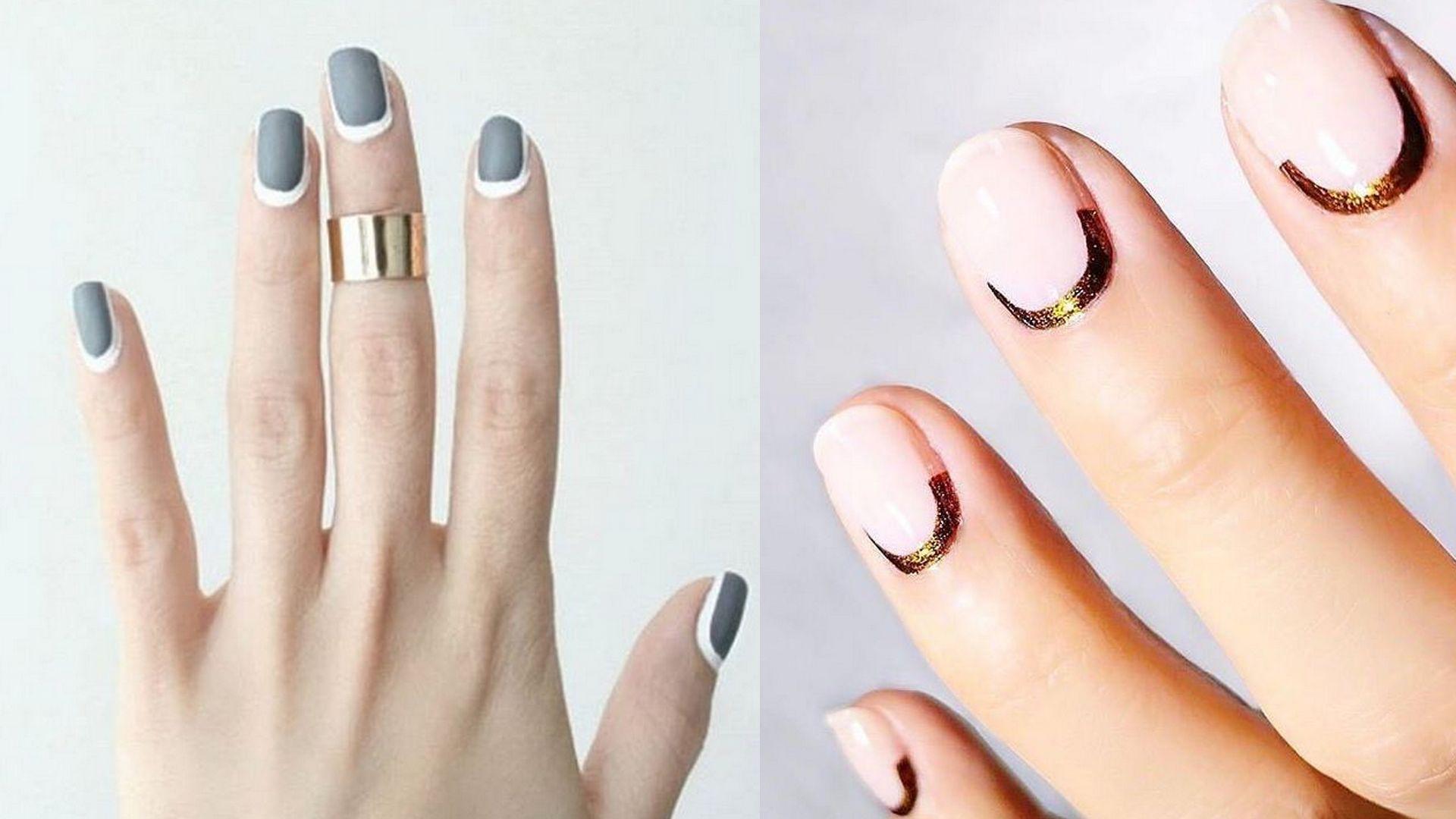 reverse manicure