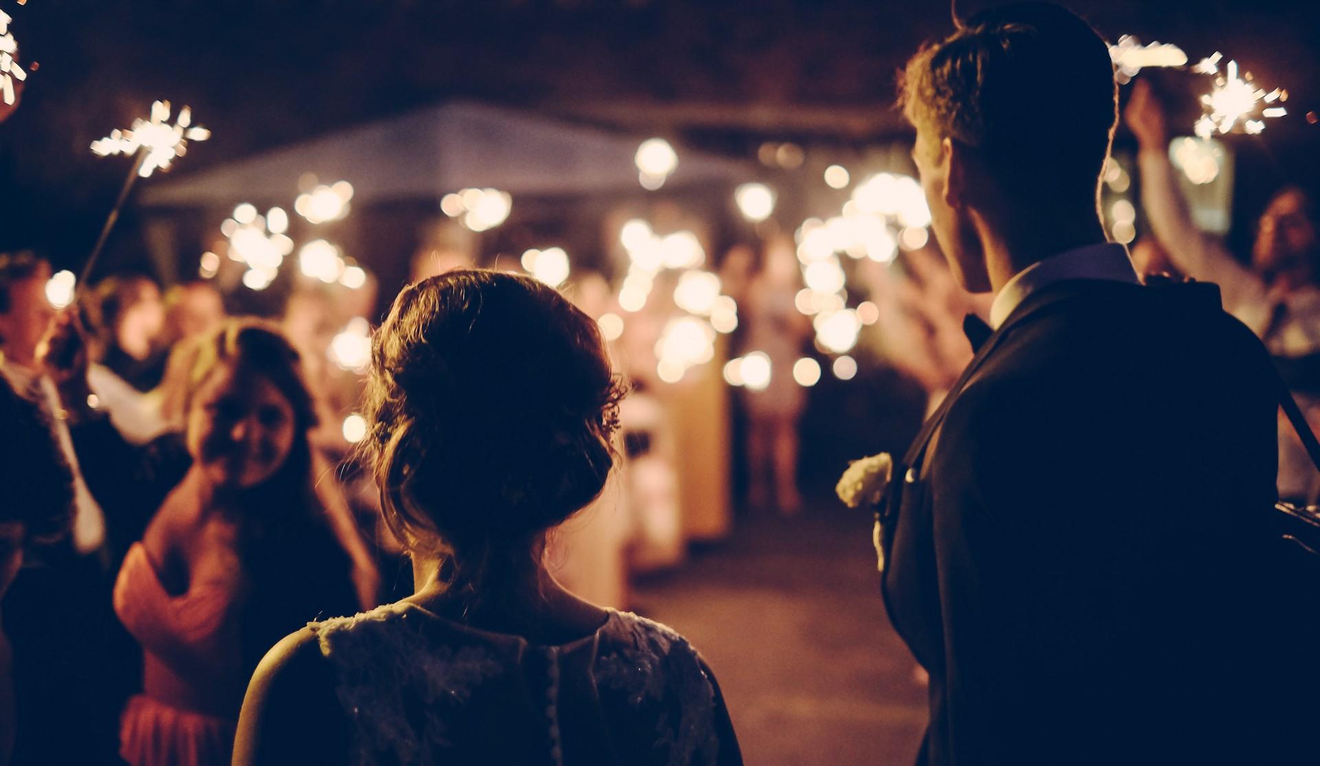 Wieniec pogrzebowy w prezencie ślubnym