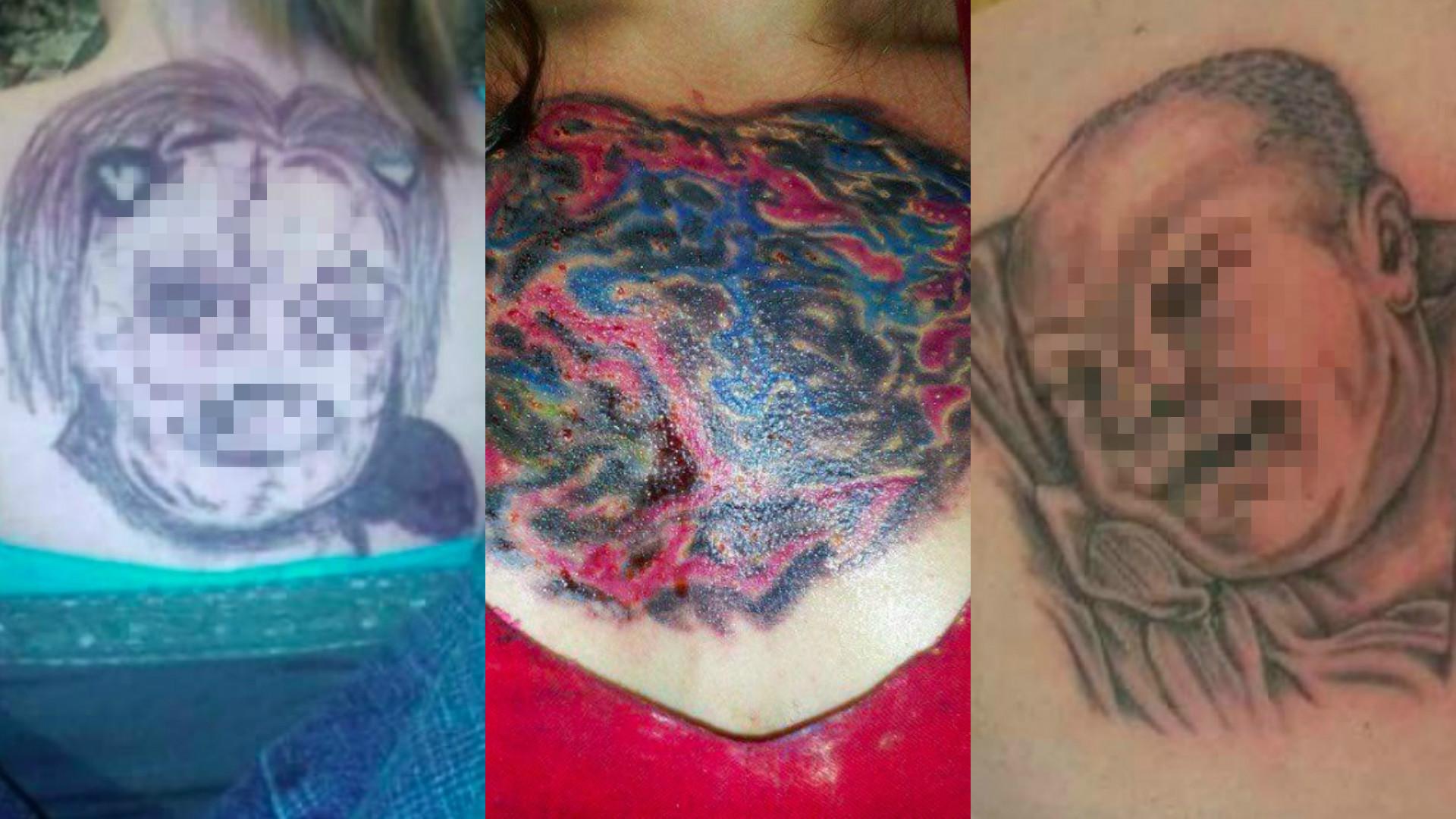 brzydkie tatuaże