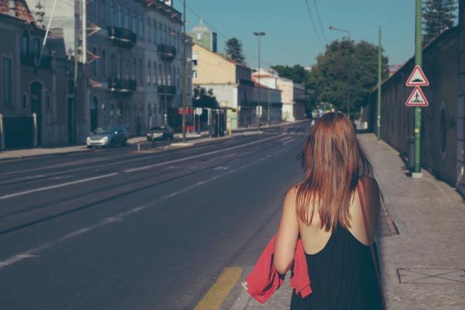 dziewczyna na ulicy